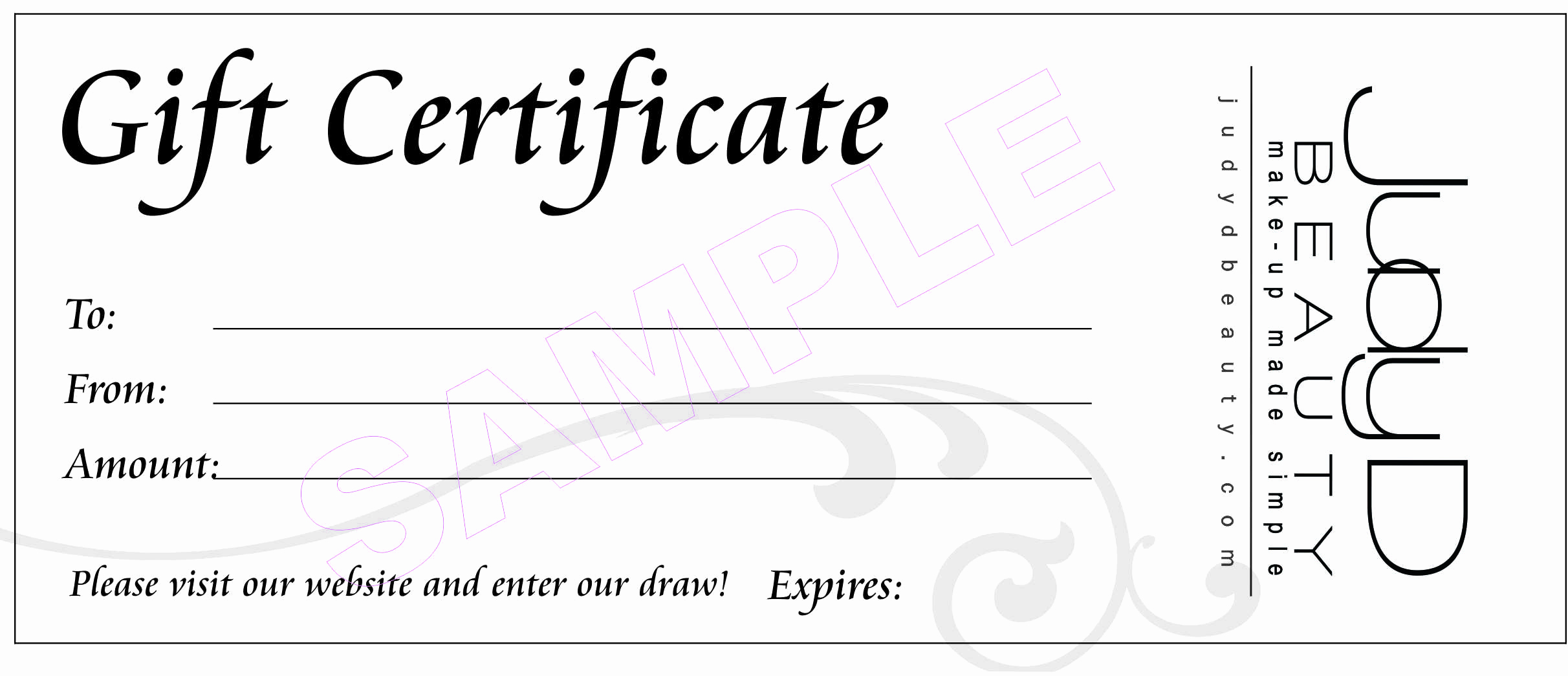 Free Printable Gift Certificate Templates Best Of 18 Gift Certificate Templates Excel Pdf formats