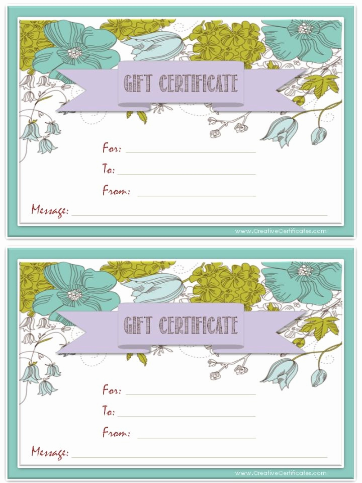 Free Printable Gift Certificate Templates Elegant 25 Unique Gift Certificate Templates Ideas On Pinterest