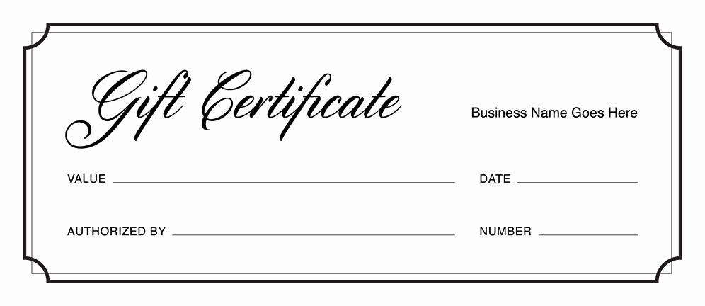 Free Printable Gift Certificate Templates Luxury Gift Certificate Templates Download Free Gift