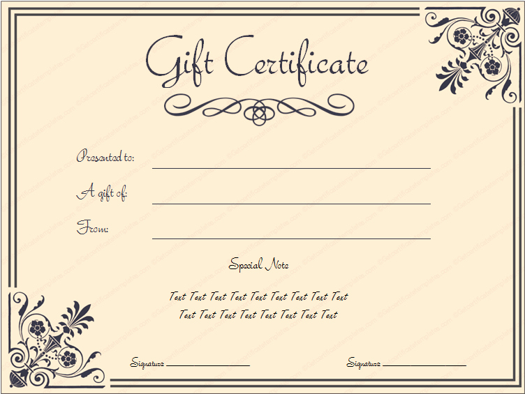 Free Printable Gift Certificate Templates Luxury Tvoucher Ttemplate Tcertificate