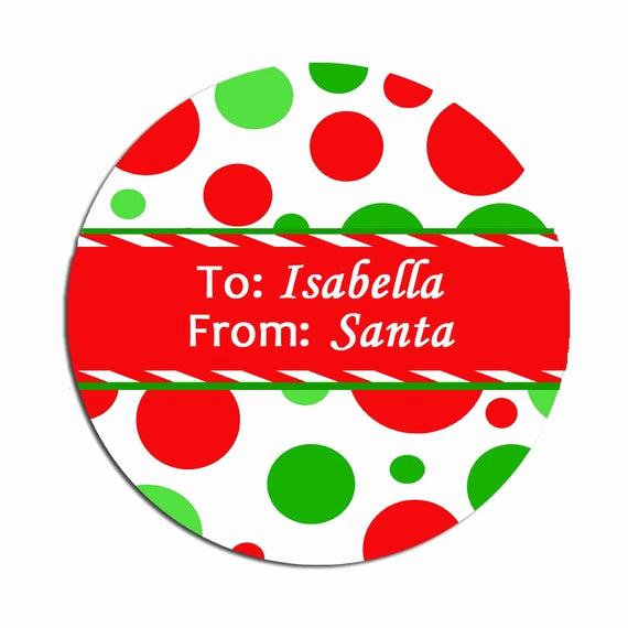 Free Printable Gift Tags Personalized Elegant Printable Personalized Christmas Gift Tags by thatpartychick