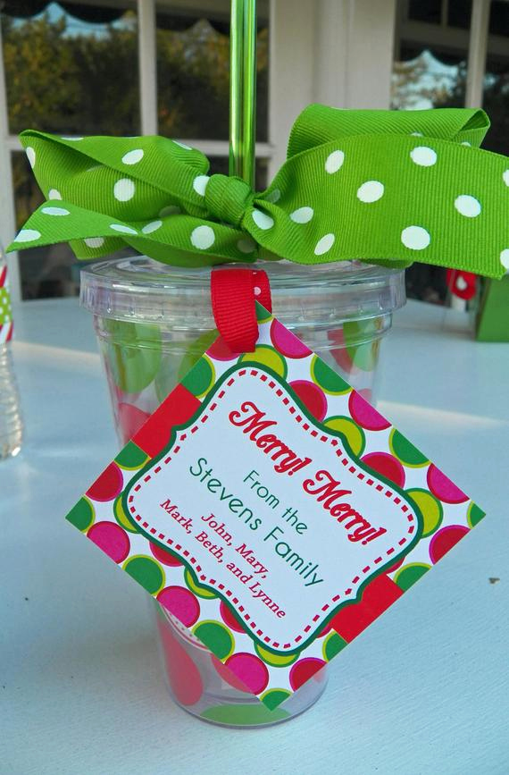 Free Printable Gift Tags Personalized New Personalized Christmas Gift Tags Printable or Printed