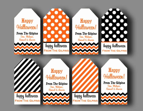 Free Printable Gift Tags Personalized New Printable Personalized Halloween Hang Tags One or All