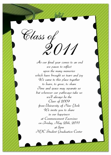 Free Printable Graduation Announcements Beautiful Free Invitation Templates for Word