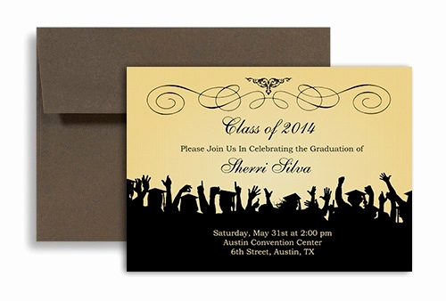 Free Printable Graduation Announcements Elegant Free Graduation Invitation Templates for Word 2018