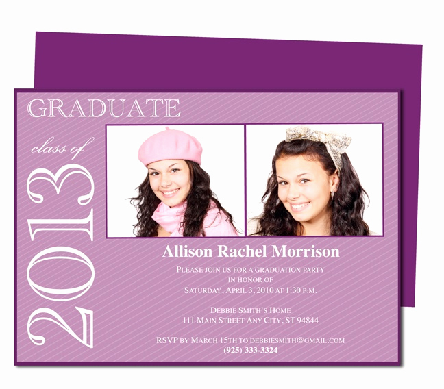 Free Printable Graduation Announcements Fresh Best 46 Printable Diy Graduation Announcements Templates