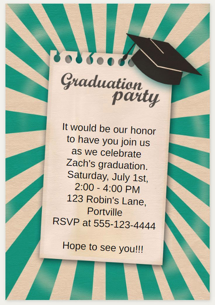 Free Printable Graduation Announcements New 25 Unique Free Printable Graduation Invitations Ideas On