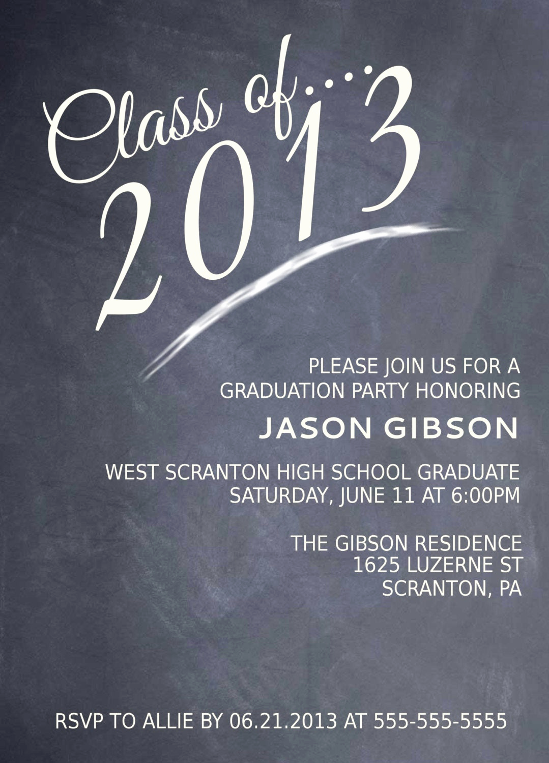 Free Printable Graduation Announcements New Printable Graduation Party Invitation Graduation Announcement