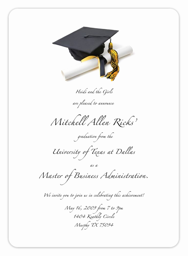 Free Printable Graduation Announcements Unique Free Printable Graduation Invitation Templates 2013 2017