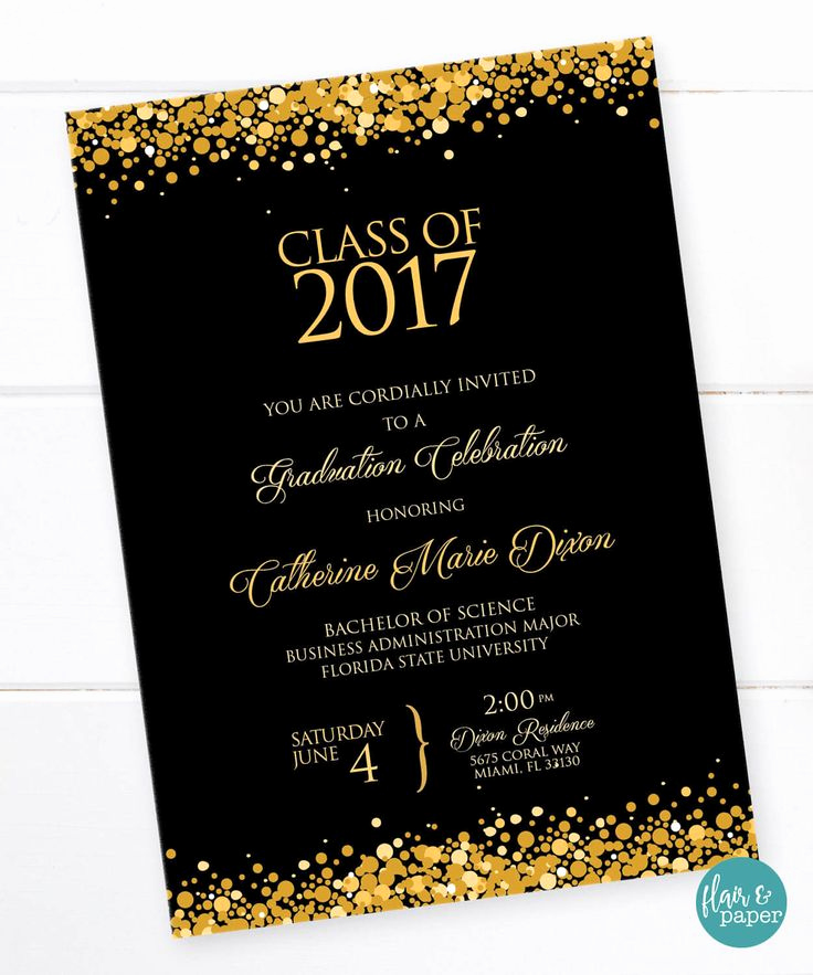 Free Printable Graduation Invitations Best Of 17 Best Ideas About College Graduation Parties On