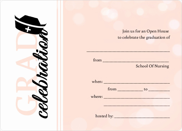 Free Printable Graduation Invitations Elegant 42 Printable Graduation Invitations Psd Ai Word