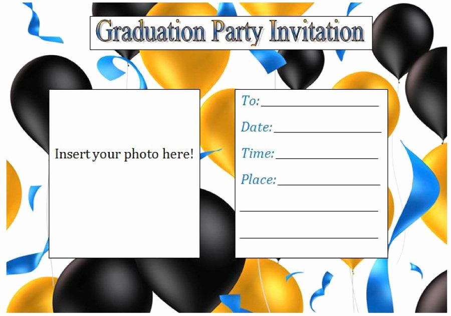 Free Printable Graduation Invitations Luxury 40 Free Graduation Invitation Templates Template Lab