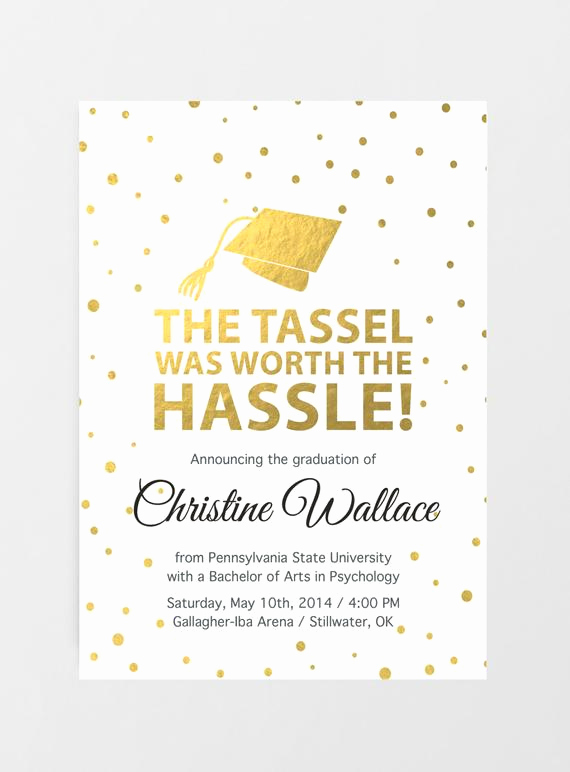 Free Printable Graduation Invitations New Printable Graduation Invitation Graduation Announcement