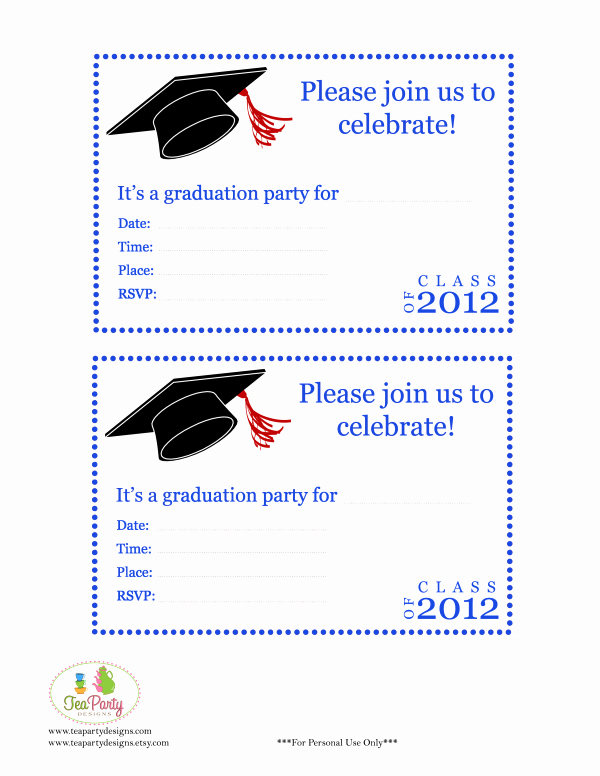Free Printable Graduation Invitations Unique Free Print Graduation Announcements Template Invitation
