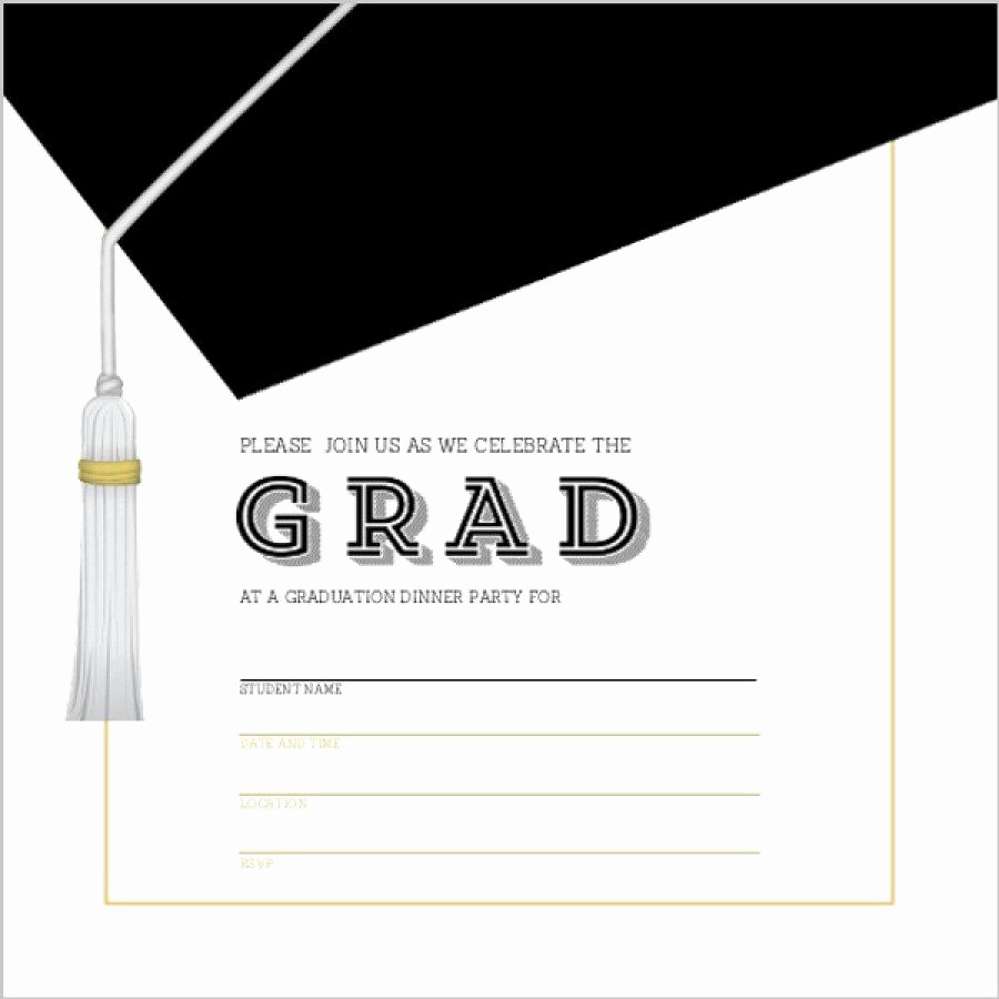 Free Printable Graduation Invitations Unique Graduation Invitation Templates Graduation Invitation