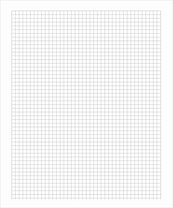 Free Printable Grid Paper Unique Free Graph Paper Template – 8 Free Pdf Documents Download