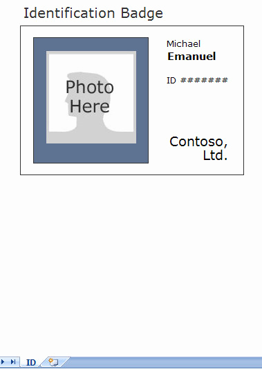 Free Printable Id Cards Templates Beautiful Identification Card Template