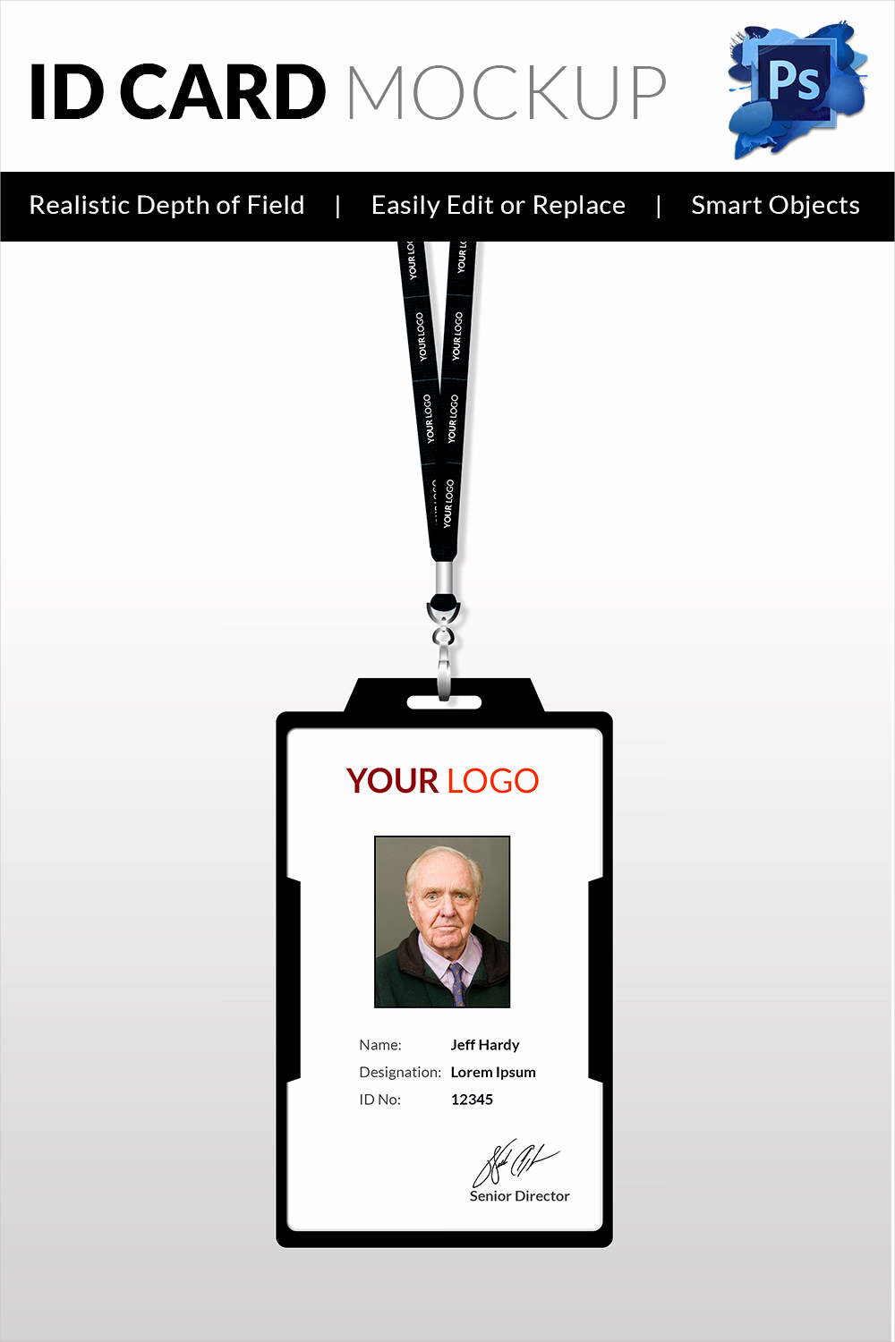 Free Printable Id Cards Templates Best Of 18 Id Card Templates – Free Psd Documents Download
