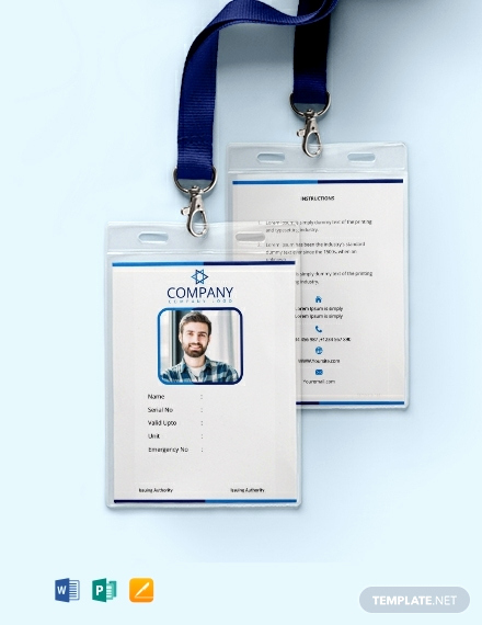 Free Printable Id Cards Templates Lovely Free Fice Blank Id Card Template Download 300 Cards In