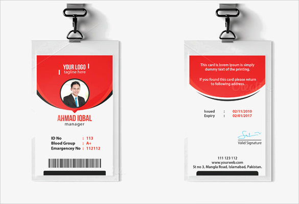 Free Printable Id Cards Templates Lovely Id Card Template 19 Download In Psd Pdf Word
