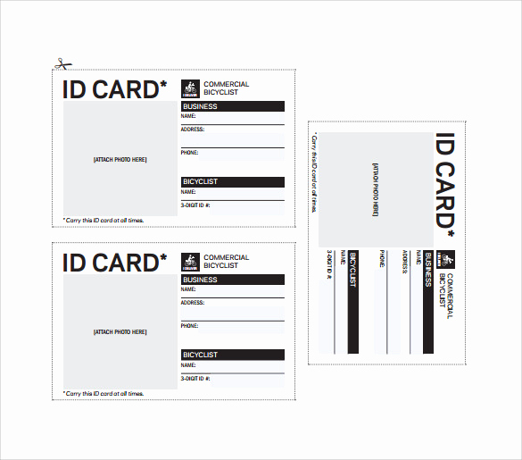Free Printable Id Cards Templates Luxury 36 Amazing Id Card Templates Ai Word Apple Pages