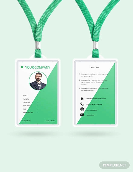 Free Printable Id Cards Templates New 38 Id Card Templates Psd Eps Png