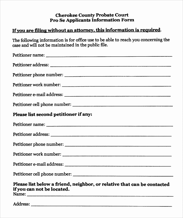 Free Printable Legal Guardianship forms Elegant 9 Temporary Guardianship form Templates to Download