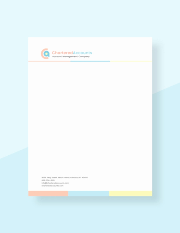 Free Printable Letterhead Templates Beautiful 32 Free Download Letterhead Templates In Microsoft Word
