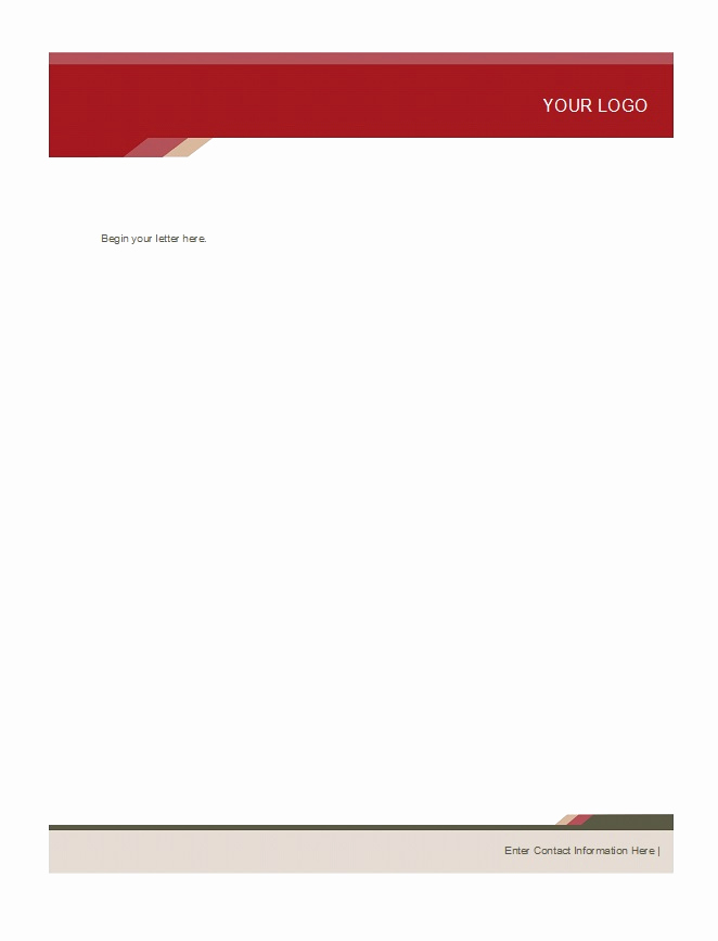 Free Printable Letterhead Templates Beautiful 46 Free Letterhead Templates & Examples Free Template