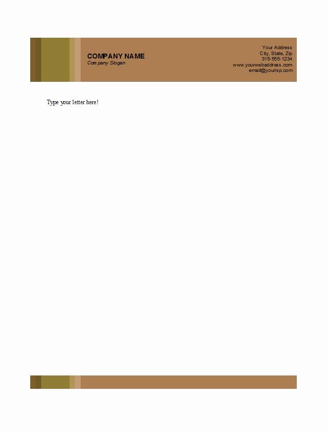 Free Printable Letterhead Templates Fresh 45 Free Letterhead Templates & Examples Pany