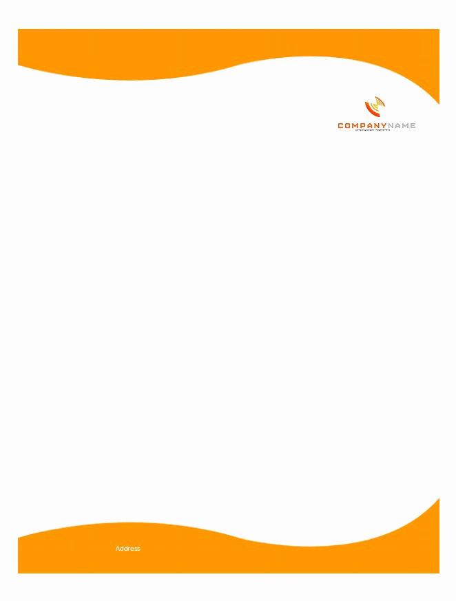Free Printable Letterhead Templates Inspirational 46 Free Letterhead Templates & Examples Free Template