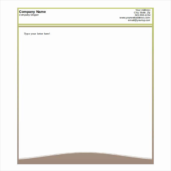 Free Printable Letterhead Templates Lovely 32 Free Download Letterhead Templates In Microsoft Word