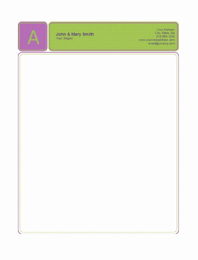 Free Printable Letterhead Templates Lovely 45 Free Letterhead Templates & Examples Pany