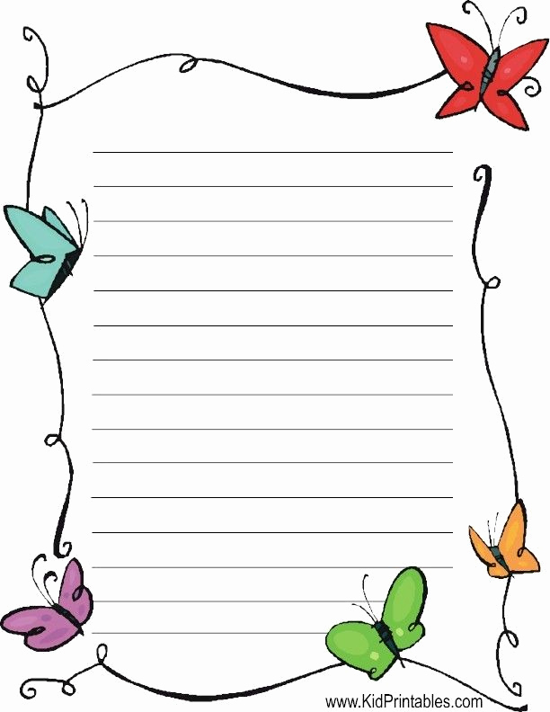 Free Printable Letterhead Templates New Best 25 Free Printable Stationery Ideas On Pinterest