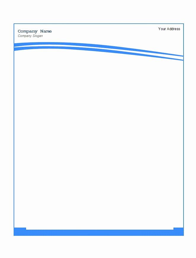 Free Printable Letterhead Templates Unique 45 Free Letterhead Templates & Examples Pany