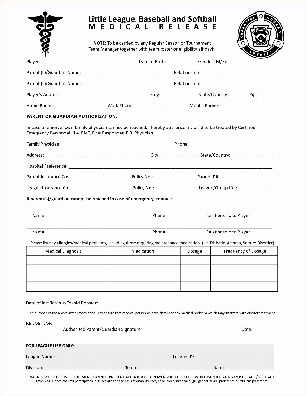 Free Printable Medical forms Elegant Blank Medical forms Mughals