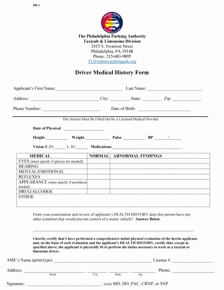 Free Printable Medical History forms Lovely 67 Medical History forms [word Pdf] Printable Templates
