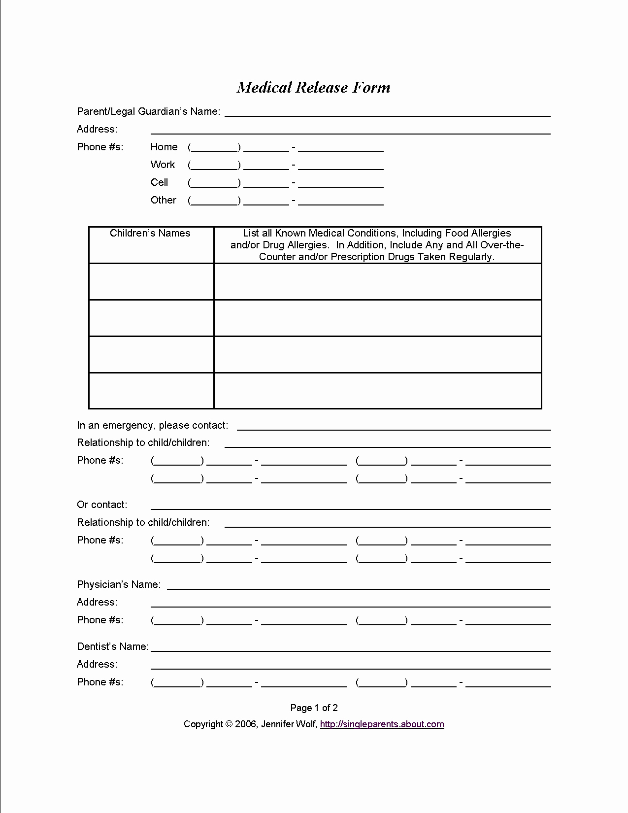 Free Printable Medical Release form Fresh Medical Consent form when You Might Need E