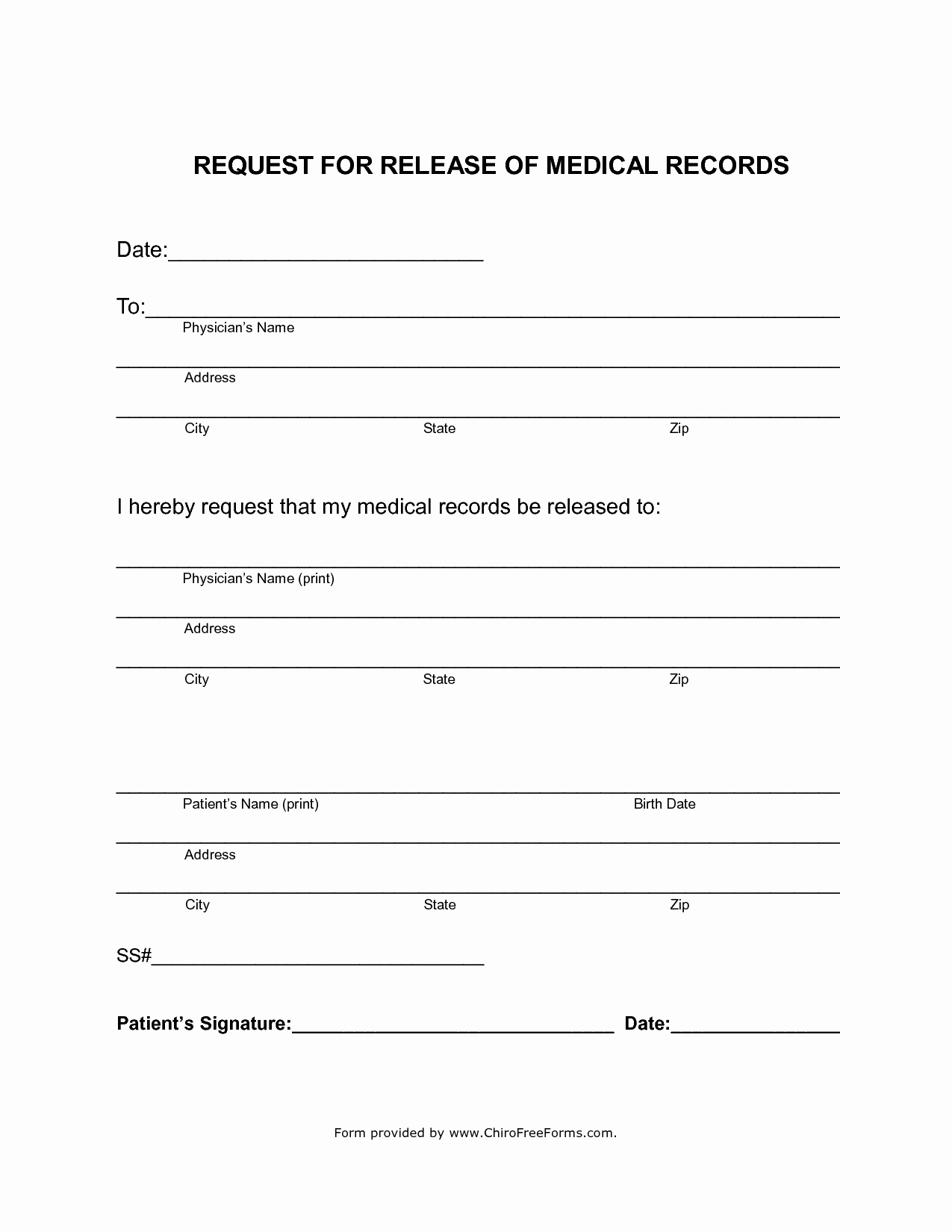 Free Printable Medical Release form Luxury Simahealing Blog