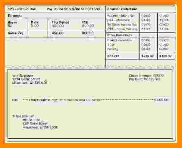 Free Printable Pay Stubs Online New 6 Printable Pay Stubs Online Free