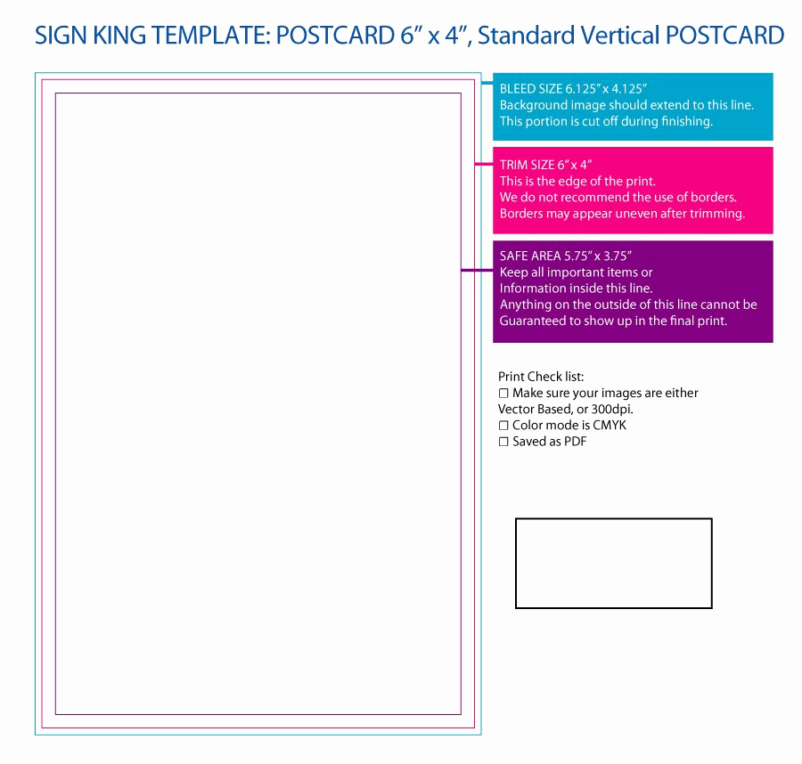 Free Printable Postcard Template Inspirational 40 Great Postcard Templates & Designs [word Pdf]