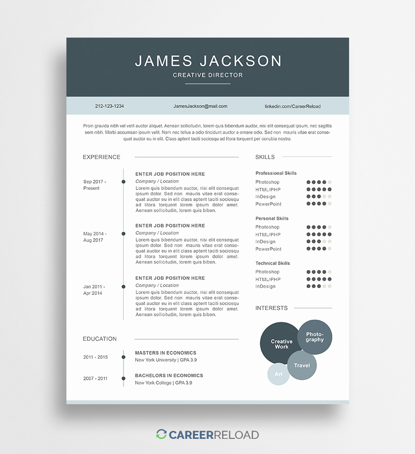 Free Printable Resume Templates Beautiful Download Free Resume Templates Free Resources for Job
