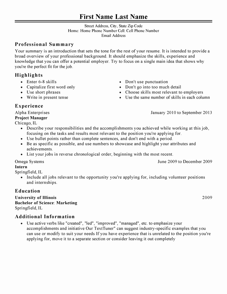 Free Printable Resume Templates Best Of Free Professional Resume Templates