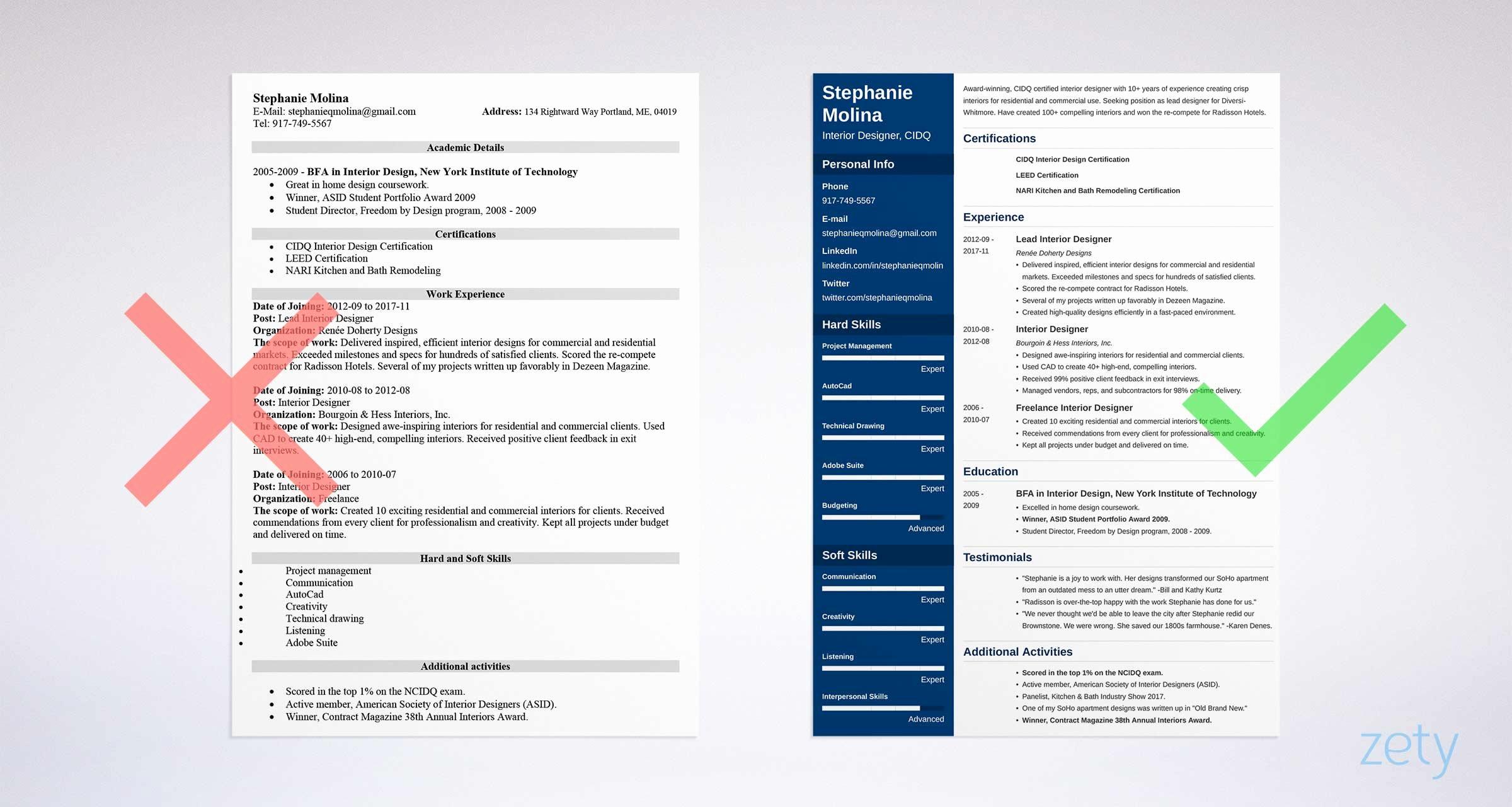 Free Printable Resume Templates Luxury Free Resume Templates 17 Free Cv Templates to Download & Use
