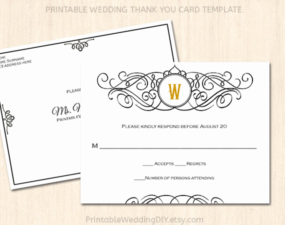 Free Printable Rsvp Cards Beautiful Printable Wedding Rsvp Postcard Template Editable Wedding