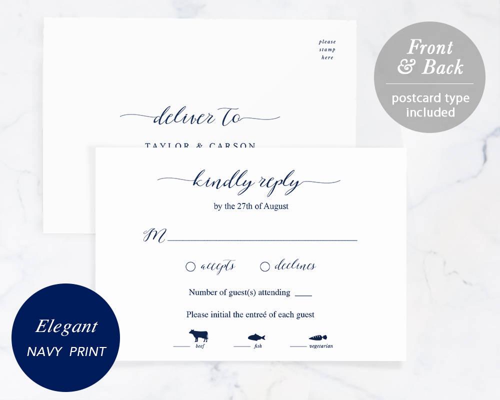 Free Printable Rsvp Cards Fresh Rsvp Card Template Printable Wedding Rsvp Rsvp Postcard