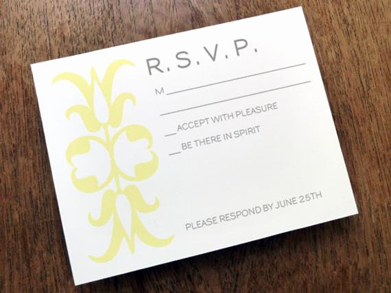 Free Printable Rsvp Cards Unique Printable Rsvp Card Response Card Download Instant by Empapers