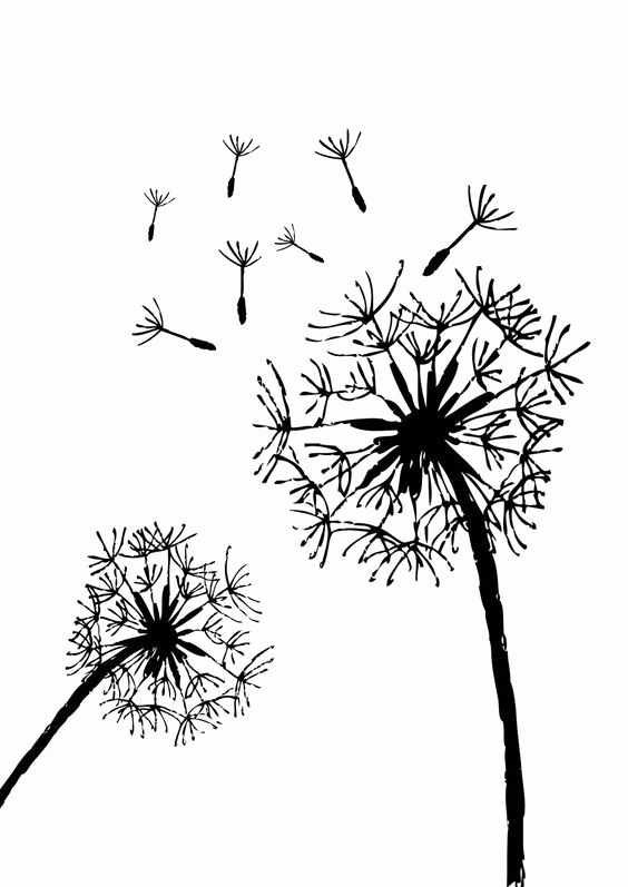 Free Printable Stencils for Painting Inspirational Free Printable Dandelion Stencils