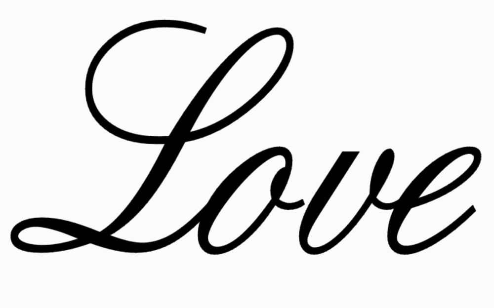 """Free Printable Stencils for Painting Lovely """"love"""" Stencil Saying Word Flexible Template Templates Art"""