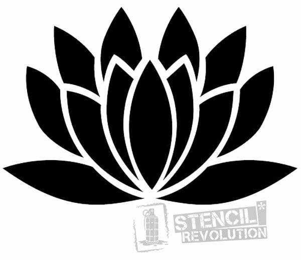 Free Printable Stencils for Painting New Lotus Flower Stencil Stencil Designs